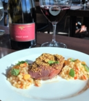 SHARE by Curtis Stone: lamb loin, coated in spiced almonds