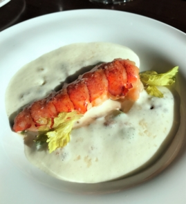 SHARE by Curtis Stone: butter poached lobster tail
