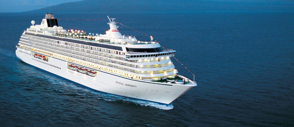 Crystal Serenity is one of Crystal Cruises most popular ships
