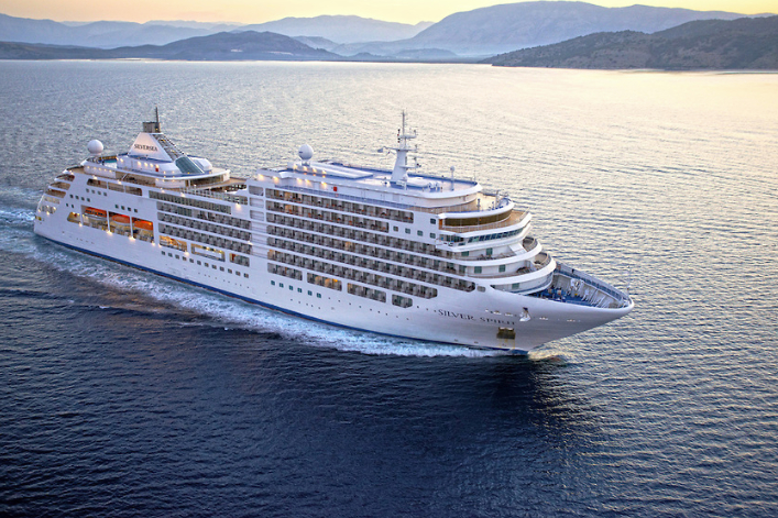 Sail into the horizon while sipping free-flowing Champagne with Silversea Cruises