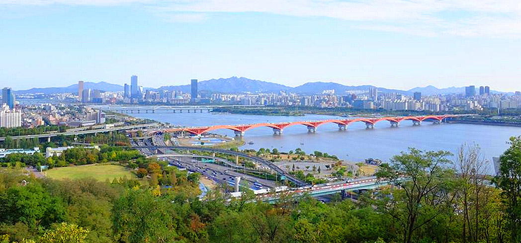 A view of Seoul, Korea