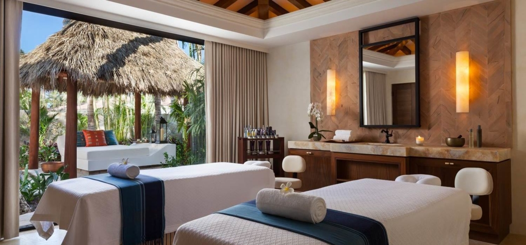 A treatment room at One&Only Palmilla, Mexico