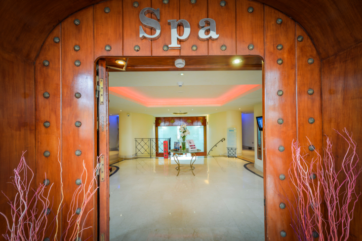 The entrance to Le Spa Phyto Sante