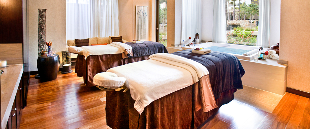 A treatment room at One&Only Spa Cape Town