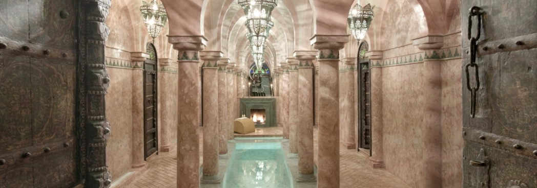A hammam at Sultana Spa