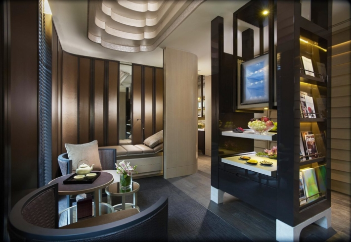 The Tea Lounge at the Spa at Mandarin Oriental, Singapore