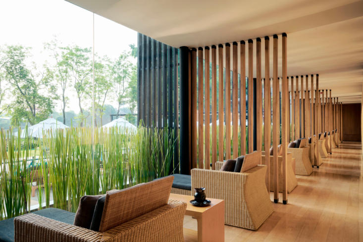 The Relaxation Area at Anantara Chiang Mai Spa