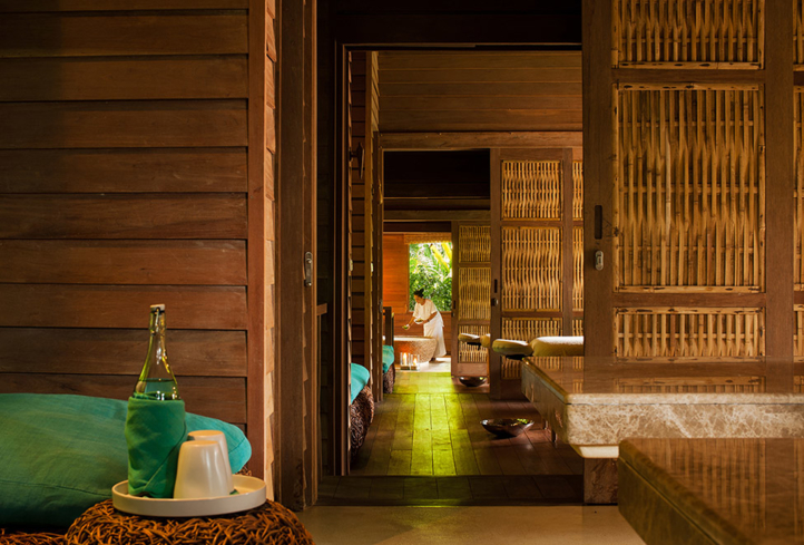 The Spa Long house at Six Senses Spa
