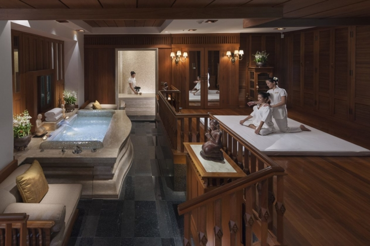 The Spa suite at The Oriental Spa at Mandarin Oriental, Bangkok
