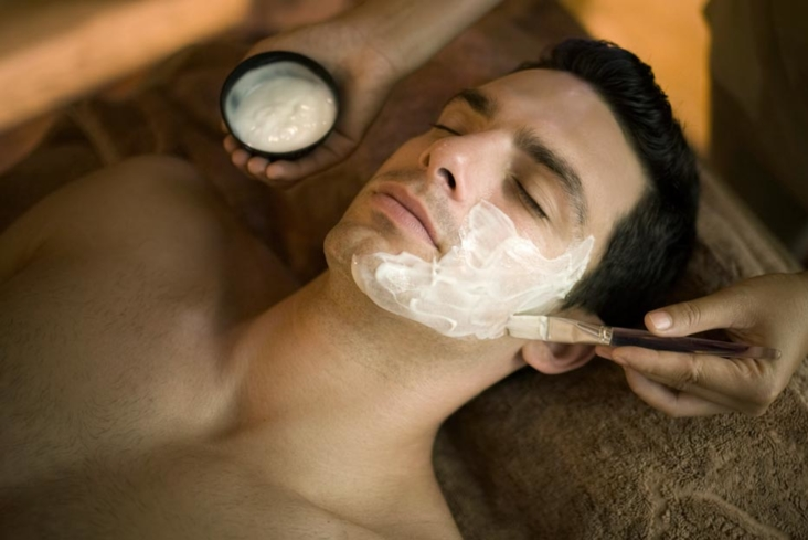 A facial at Rayavadee Spa