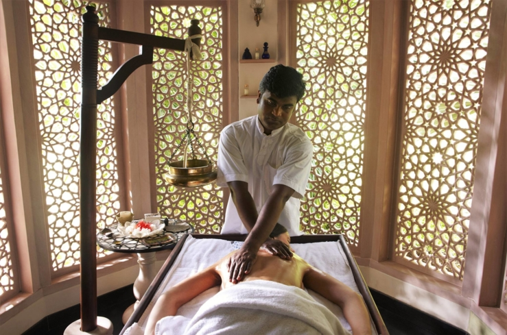 An Ayurvedic treatment at the Wellness Centre at BodyHoliday Saint Lucia