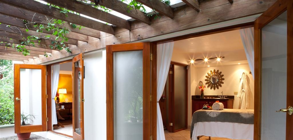 The treatment rooms at Kaana Spa, a top spa in Belize