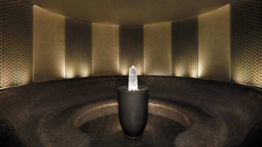 The Crystal Steam Room at The Peninsula Spa