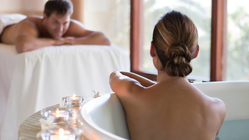 Book a couples spa treatment at the Spa at Four Seasons Resort Costa Rica