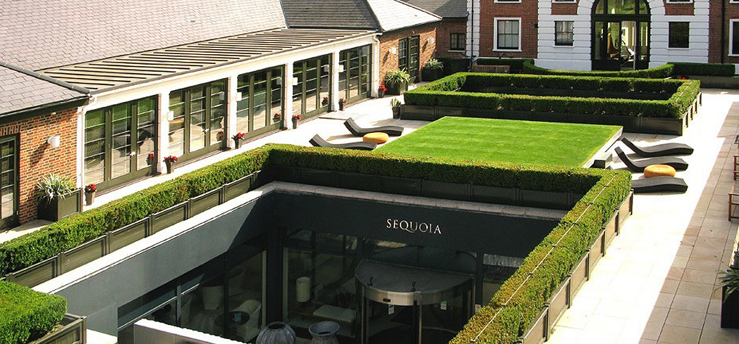 Unwind with a spa treatment at Sequoia at The Grove