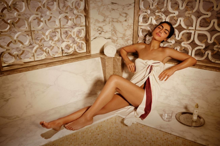 Relax in the Morrocan Hammam at Urban Retreat at Harrods