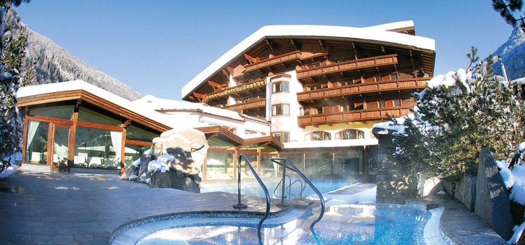 Spa Hotel Jagdhof has one of the top spas in Austria