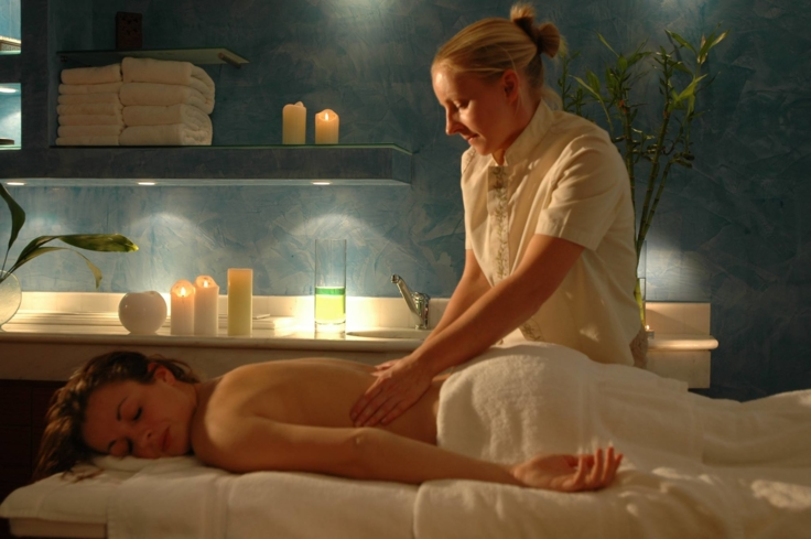 Enjoy a soothing massage at Anagenisis Spa at Sentido Thalassa Coral Bay