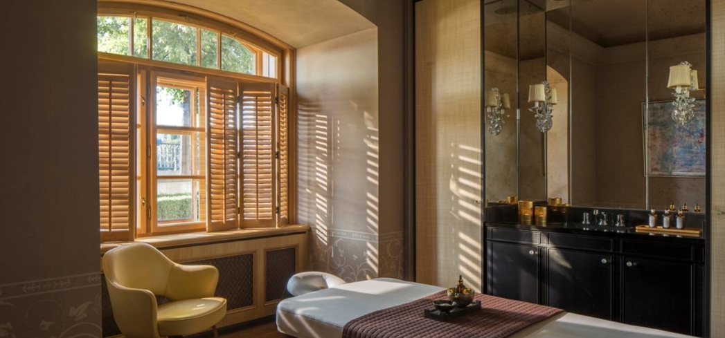 AVA Spa at the Four Seasons Hotel Prague is a top spa in the Czech Republic
