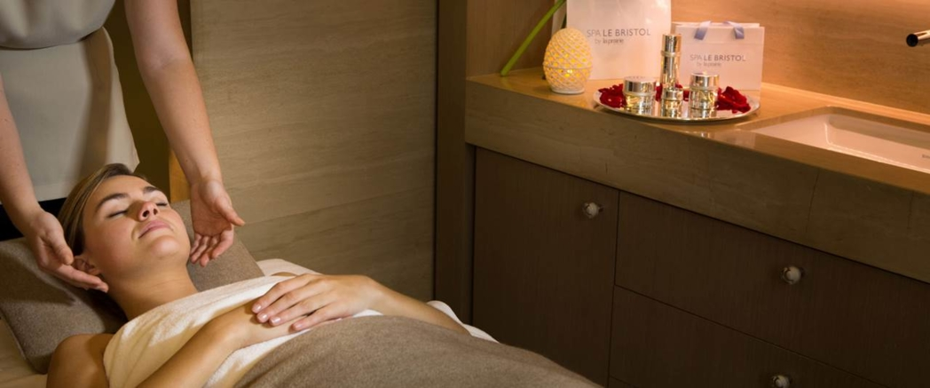 Enjoy luxurious treatments at Spa Le Bristol by La Prairie in Paris, France