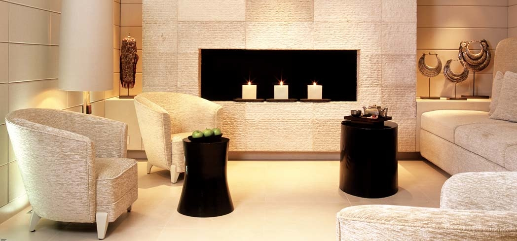 The reception area of Adlon Spa by Resense