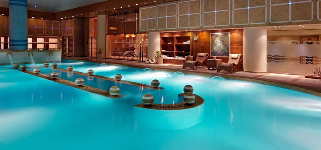 Divani Athens Spa is home to the largest Thalassotherapy pool in Greece.