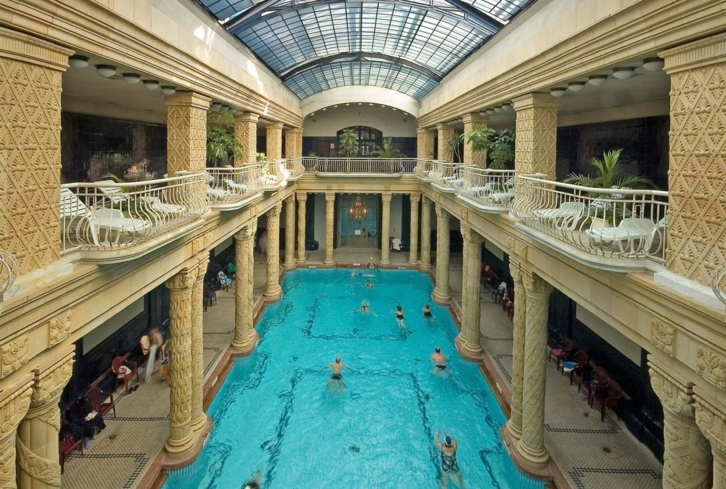 The Gellért bath swimming pool
