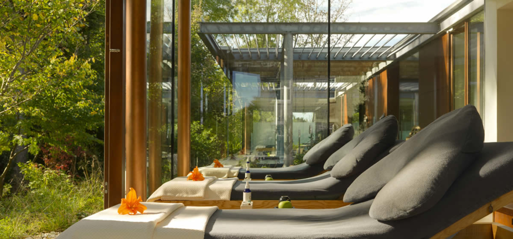 The relaxation room at SÁMAS Spa, a top spa in Ireland
