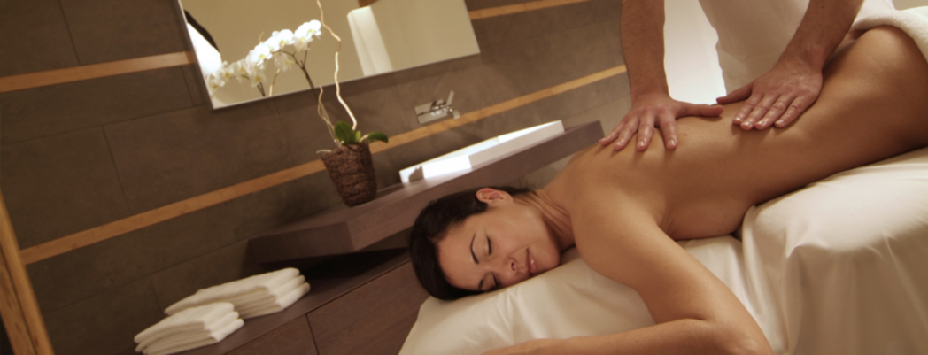 A massage treatment at Abano Spa at Hotel President Terme