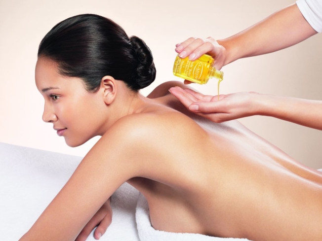 A luxurious massage at Arzaga Spa by Clarins