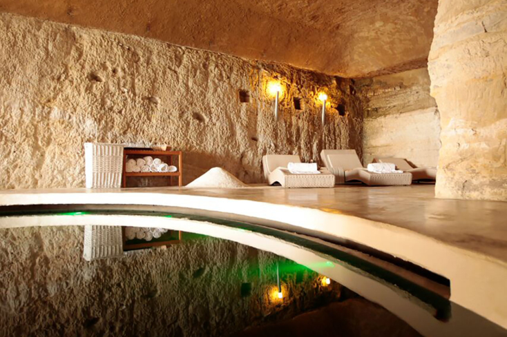 The Salt Cave at San Maurizio Wellness & Medical Spa