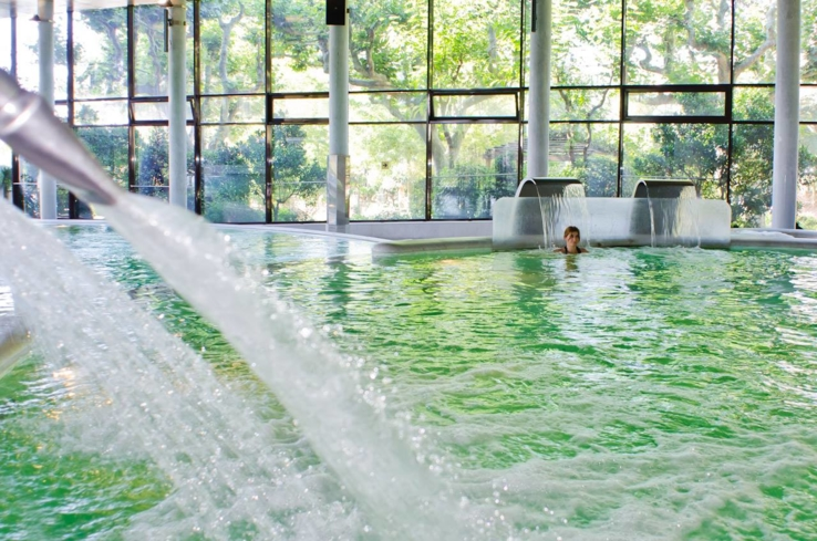 Bask in the healing waters of Aquatonic at the Thermal Spa at Hotel Termes Montbrió