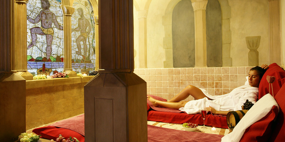 Indulge in the vinotherapy treatments offered at Wine Spa Peralada