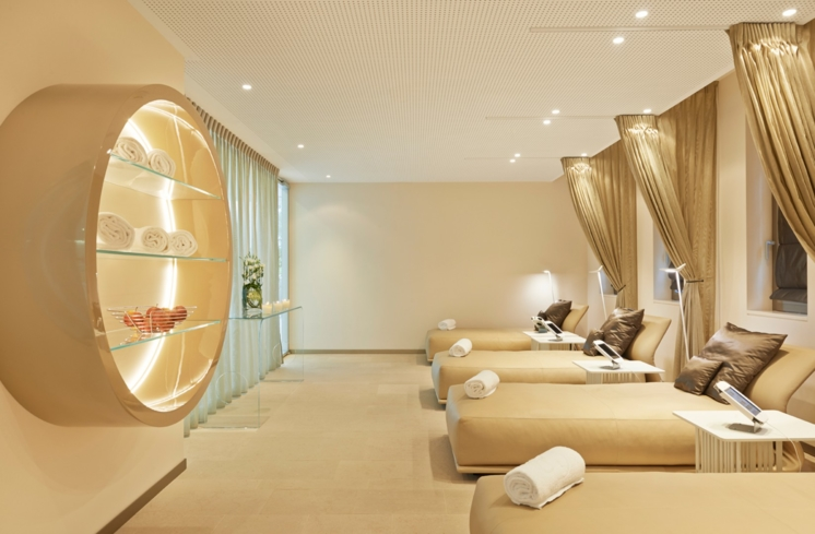 The Relaxation Room at Clinique La Prairie Medical Spa
