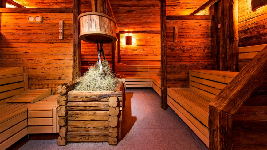 The Bio Sauna at Kempinski The Spa in St. Moritz