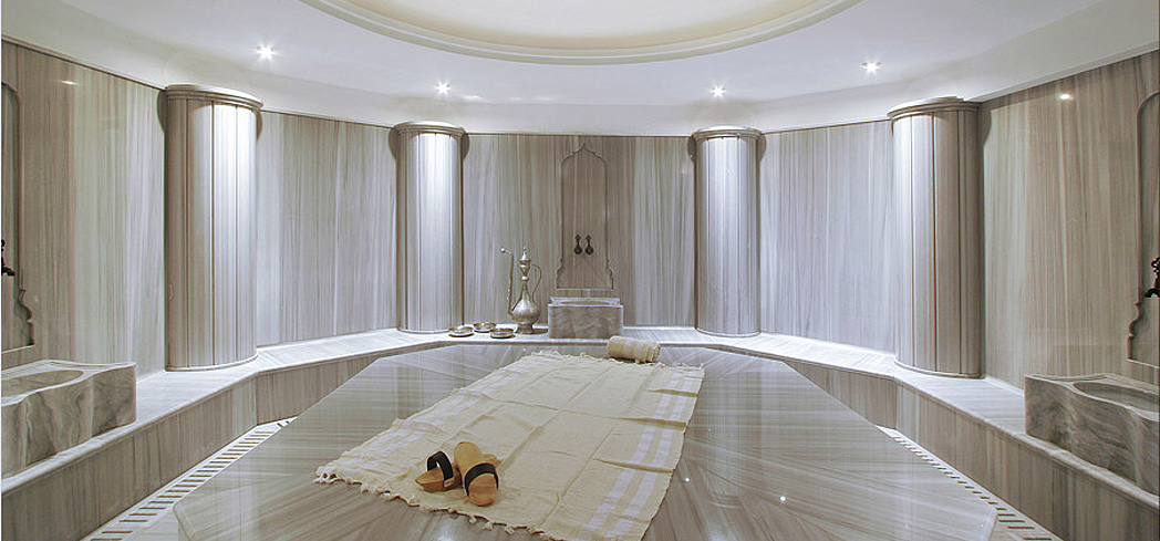 The Turkish bath at Richmond Nua Spa