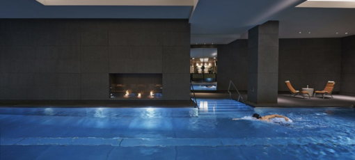 The pool at Spa Mandarin Oriental Hyde Park London