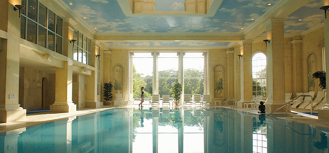 The indoor pool at The Spa at Chewton Glen