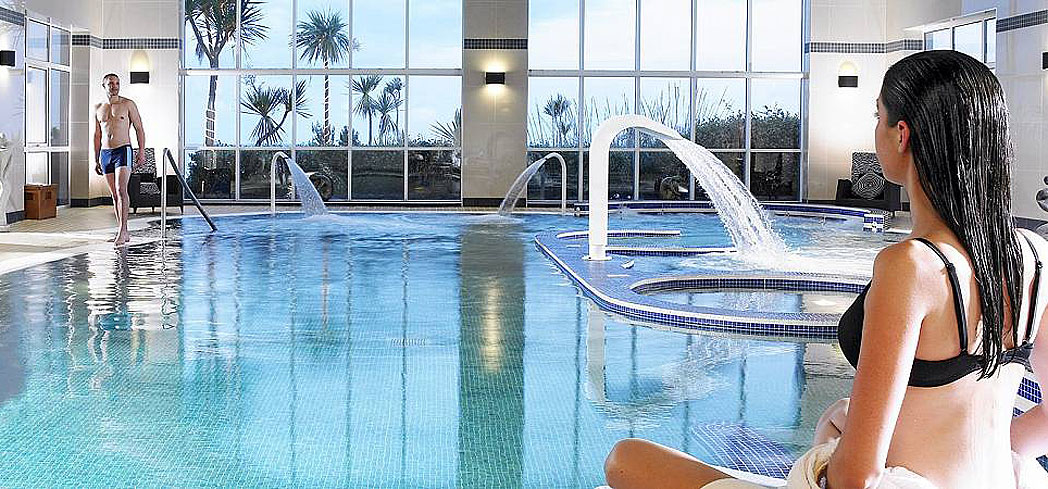 The Seawater Therapy Pool at Island Spa inside Inchydoney Island Lodge & Spa