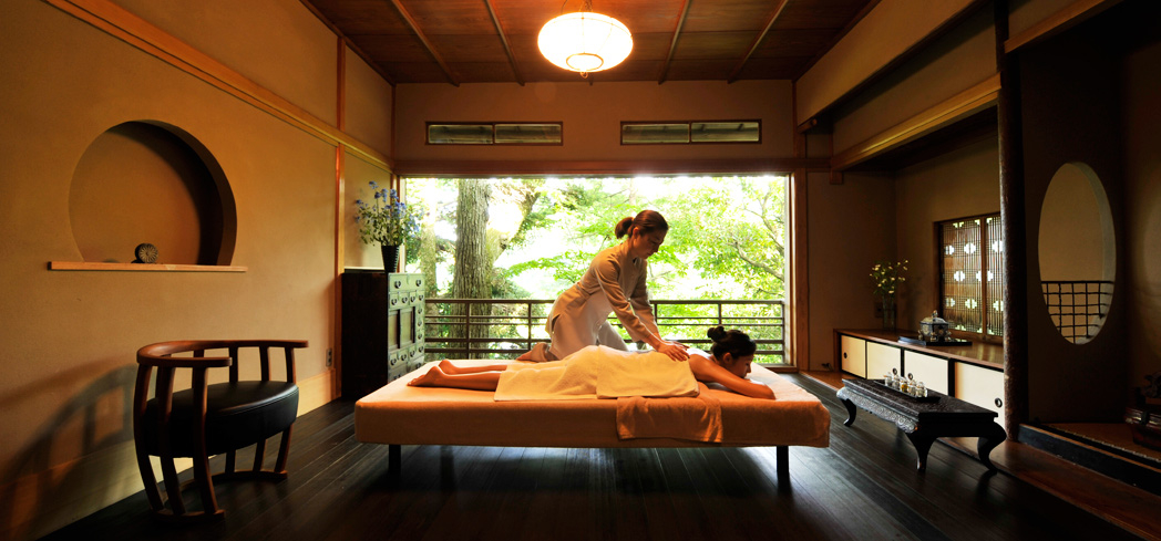 Relieve muscle tension with a soothing massage at Kadan Spa