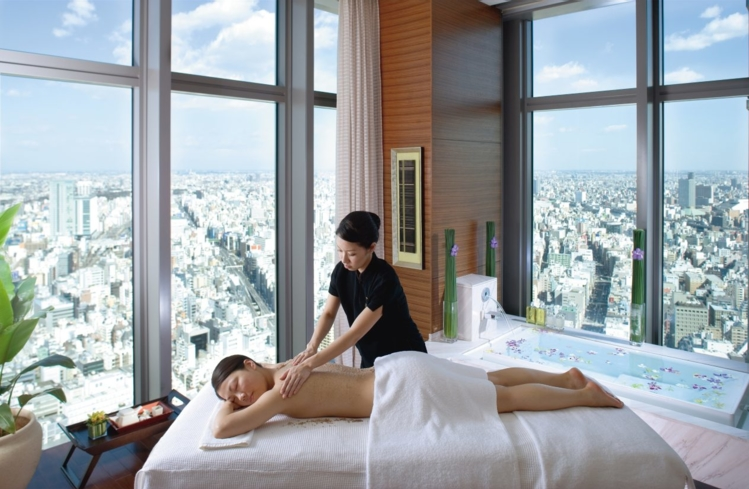 Tranquility Suite at the Spa at Mandarin Oriental, Tokyo