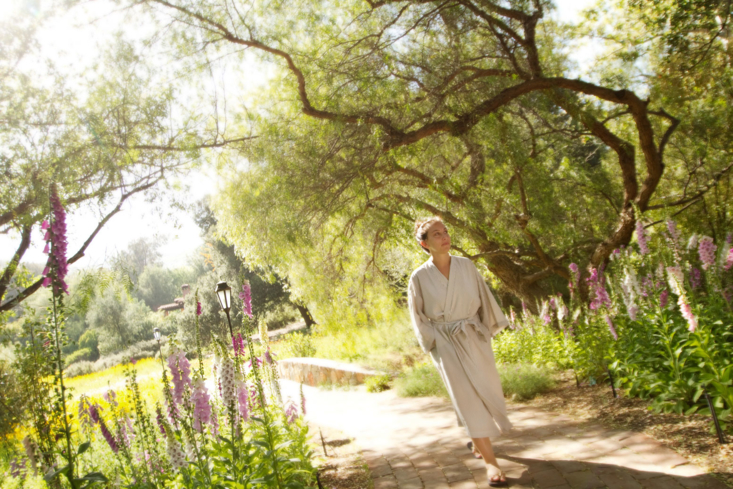 Walk the lush grounds of Rancho La Puerta