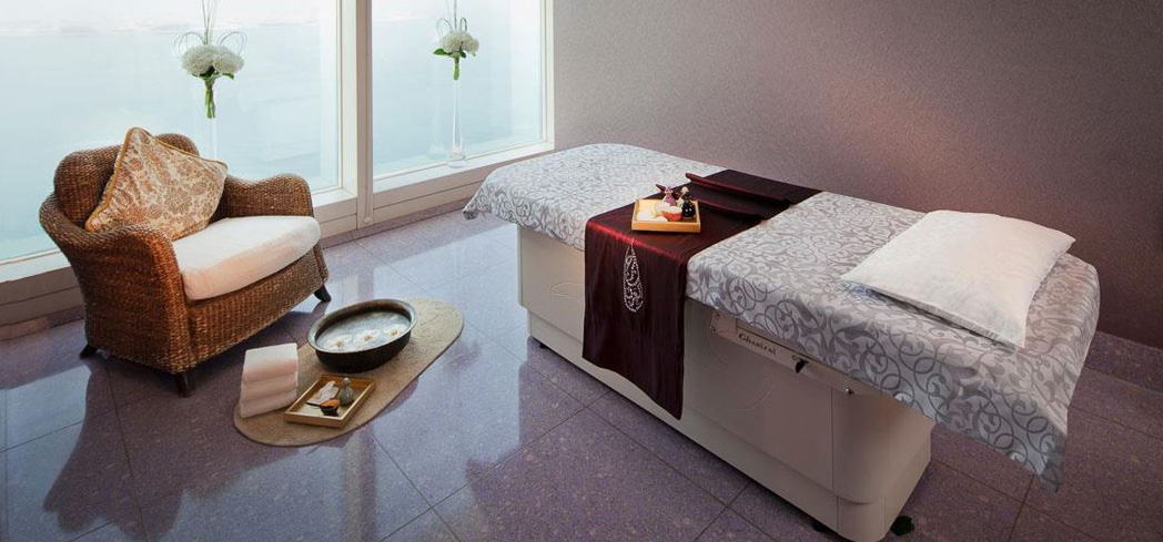 Inside Talise Spa at Burj Al Arab Jumeirah
