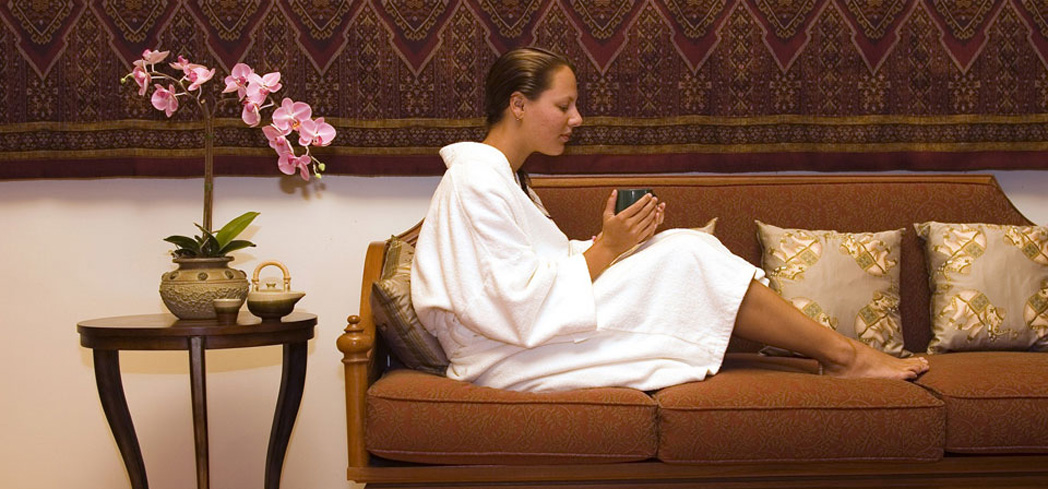 Treatments come from Eastern and Western practices at The Baan Thai spa