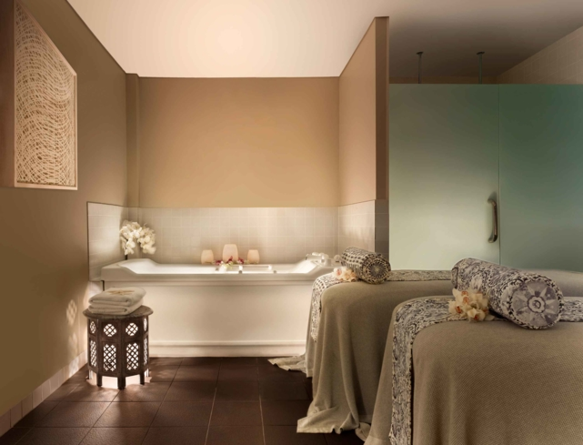 One of the treatment rooms at One&Only Hayman Island Spa