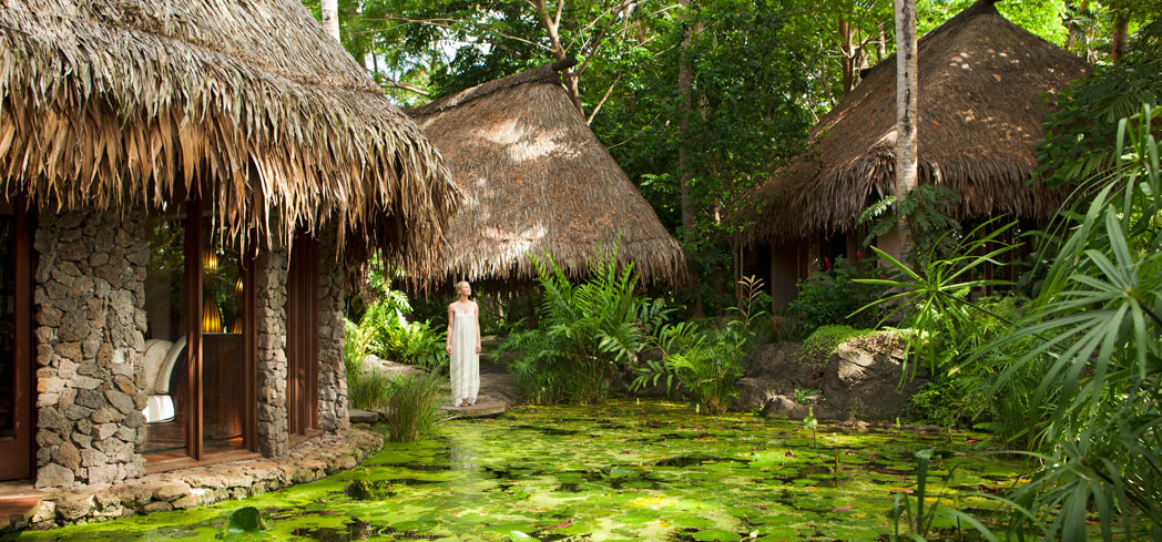 Luxurious treatments and troical gardens await you at The Spa Laucala Island