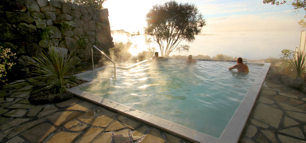 Take a dip in a hot mineral pool at Polynesian Spa, one of the top spas in New Zealand