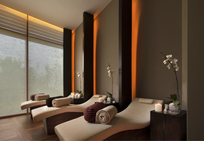 The Relaxation Room at Auriga spa at Capella Singapore Hotel