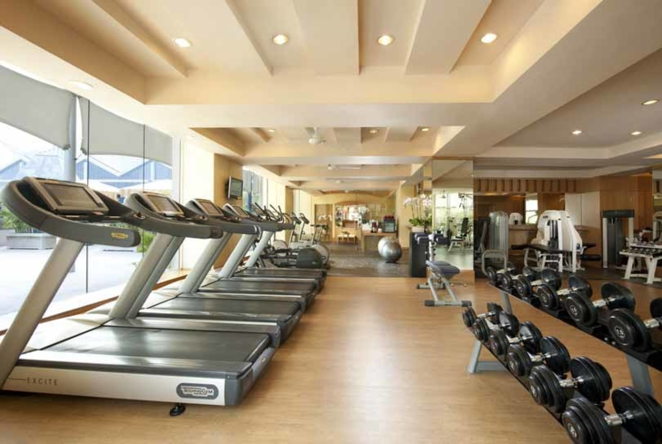 The fitness centre at Conrad Spa & Fitness