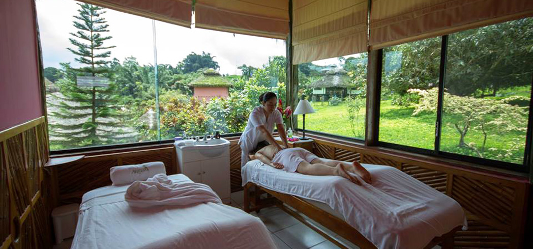 Enjoy a massage at Arasha Spa